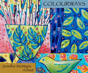 Jennifer McIntyre contemporary art, art workshops, relief printmaking