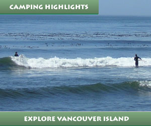 camping vancouver island bc canada