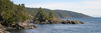 Pike Point, East Sooke Park, Sooke, BC