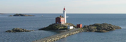Fisgard Lighthouse Fort Rodd Hill Park BC