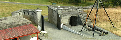 Lower Battery Fort Rodd Hill BC