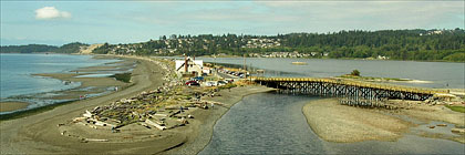 Esquimalt Lagoon from Fort Rodd Hill