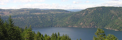Malahat Drive from Gowlland Tod Park