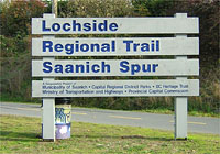 Lochside Trail Vancouver Island BC