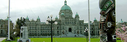 Parliament Buildings Victoria BC